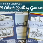 Curriculum Clean-Out Giveaway:  All About Spelling (Level 1) + 2 Level 1 Readers