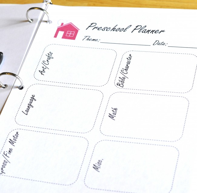 photograph relating to Printable Homeschool Planners named Totally free Printable Homeschool Planner Web pages