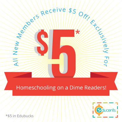 Homeschooling on a Dime Educents free Edubucks