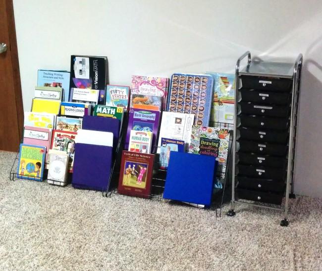 Organizing Homeschool Classroom