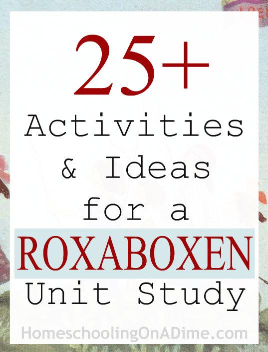 Roxaboxen Activities and Unit Study Ideas