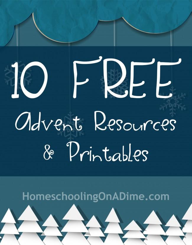 Free Advent Printables
