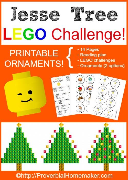 Jesse Tree Lego Challenge