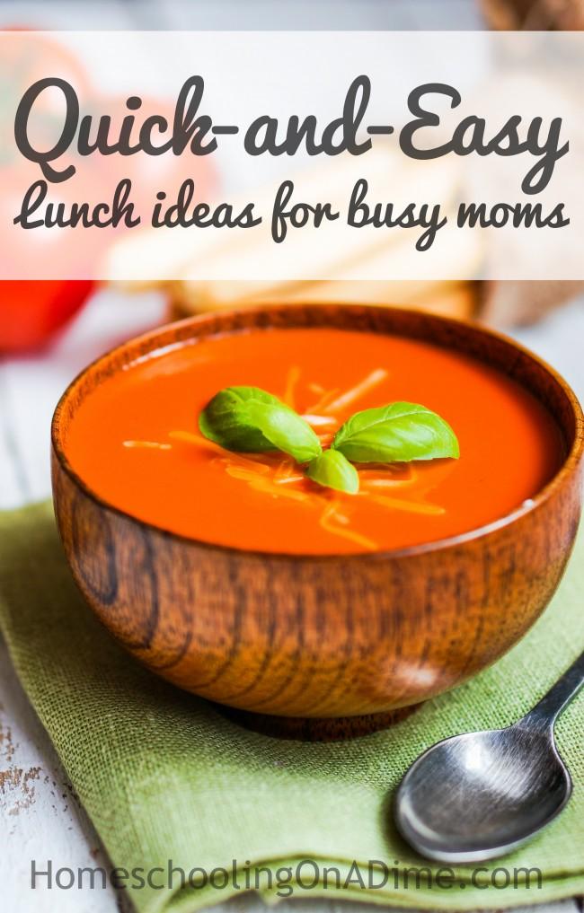 Fast Lunch Ideas