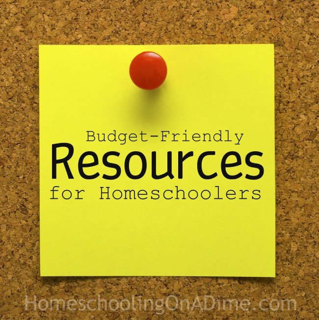 Homeschooling for Cheap